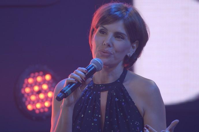 Helena Fernandes escolhe Eliza como vencedora (Foto: TV Globo)