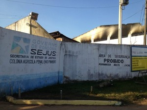 Colônia Agrícola Penal Ênio Pinheiro em Porto  Velho (Foto: Taísa Arruda/G1)