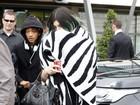 Kylie Jenner leva Jaden Smith ao casamento da irmã