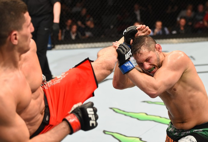 Chris Clements Nordine Taleb UFC 186 (Foto: Getty Images)