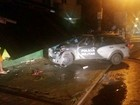 No AP, mulher fica ferida após viatura da Polícia Militar invadir lanchonete
