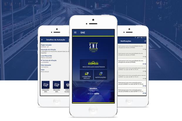 Aplicativo oferece desconto de 40% em multas de trânsito (Foto: Divulgação)