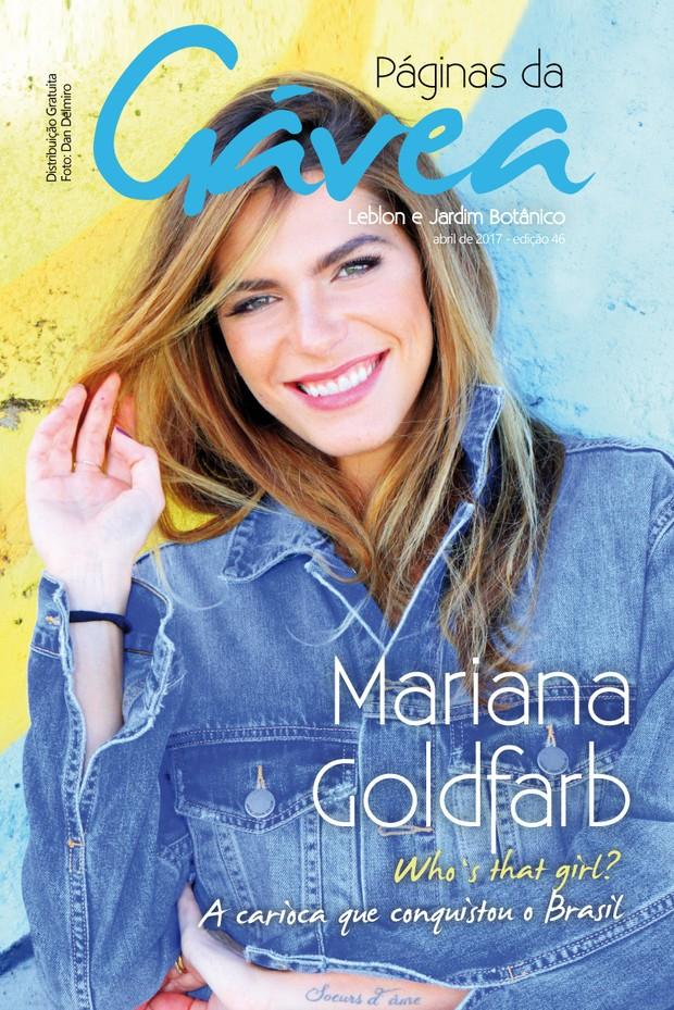 Mariana Goldfarb (Foto: Daniel Delmiro / Revista Páginas da Gávea)