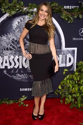 Sofia Vergara em première de filme em Los Angeles, nos Estados Unidos (Foto: Frazer Harrison/ Getty Images/ AFP)