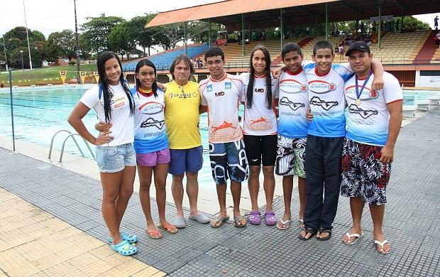 Natação Amazonas (Foto: Michael Dantas/Sejel)