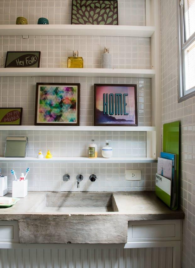 banheiro-quadros-organizacao (Foto: Marcelo Magnani/Editora Globo)