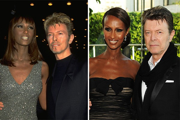 David Bowie e Iman (Foto: Getty Images)