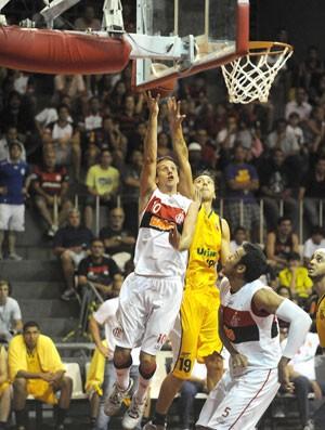 Nbb, Duda, Flamengo x São josé (Foto: Alexandre Vidal / Flaimagem)