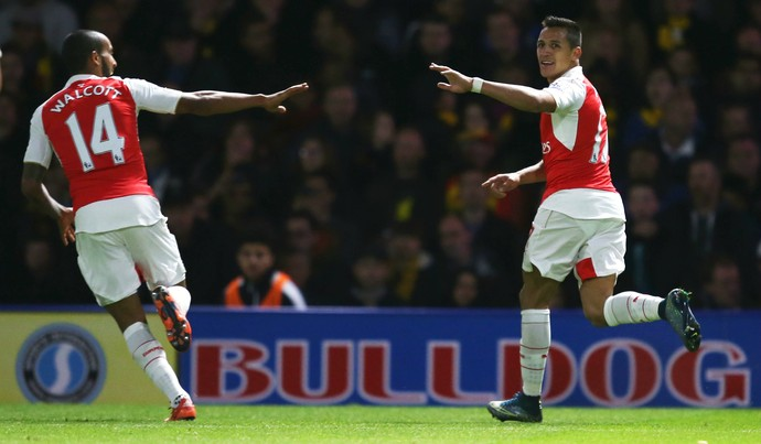 Alexis Sánchez Arsenal Watford (Foto: Getty Images)