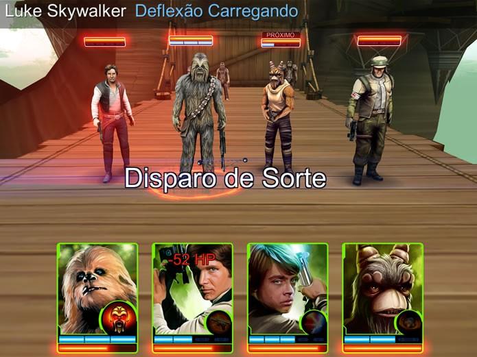 Na modalidade Arena é possível enfrentar os esquadrões de personagens montados por outros jogadores (Foto: Reprodução/Daniel Ribeiro)