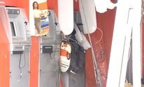 Caixas são explodidos em Lauro de Freitas (Reprodução)