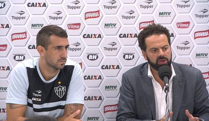 Daniel Nepomuceno fala sobre negociação de Lucas Pratto com o São Paulo  (Foto: Reprodução/ TV Globo Minas)