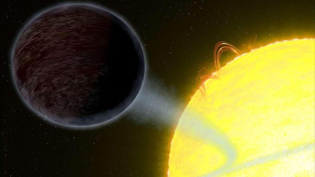Planeta escuro de forma oval é descoberto pelo Hubble