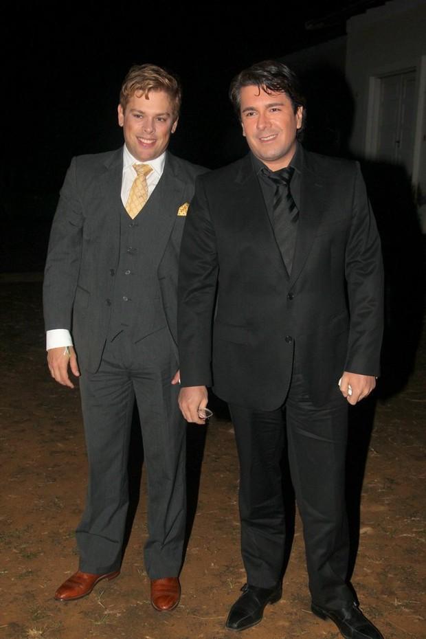 Bruno Chateaubriand e André Ramos (Foto: Francisco Silva/Agnews)