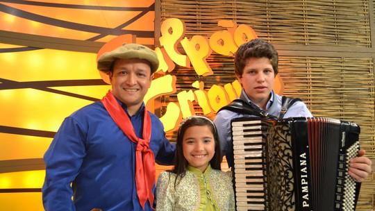 Maria Alice participou de programa de música regionalista do RS antes do 'The Voice Kids'