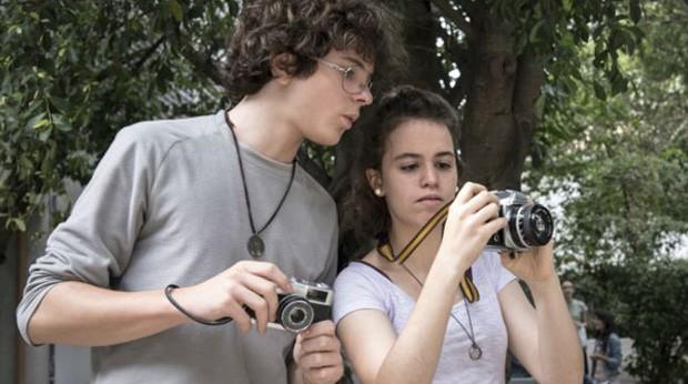José e Julia fizeram aula de foto (Foto: Mariana Chama)