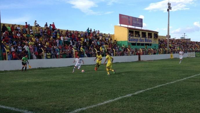 Ipanema e ASA, 2016, no Estádio Arnon de Melo (Foto: Jânio Barbosa)