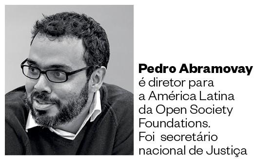 Pedro  Abramovay é diretor para  a América Latina da Open Society Foundations.  Foi  secretário nacional de Justiça (Foto: Arquivo pessoal)