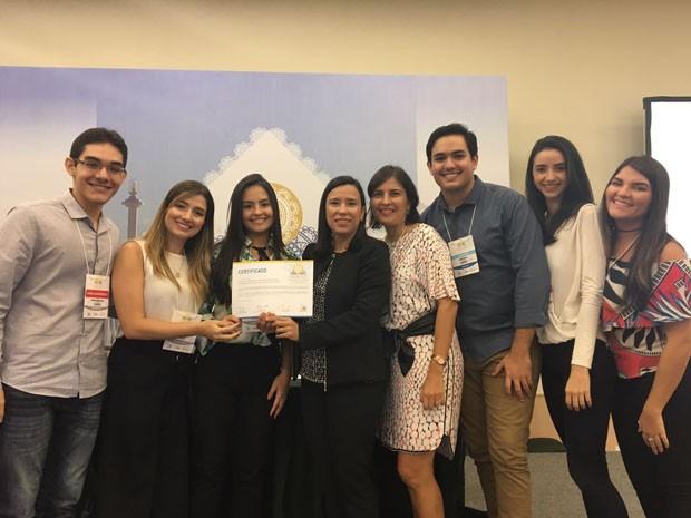 A LIMEN venceu o Congresso Brasileiro de Atualização em Endocrinologia e Metabologia por sua contribuição científica sobre doenças endócrinas  (Foto: Arquivo pessoal )