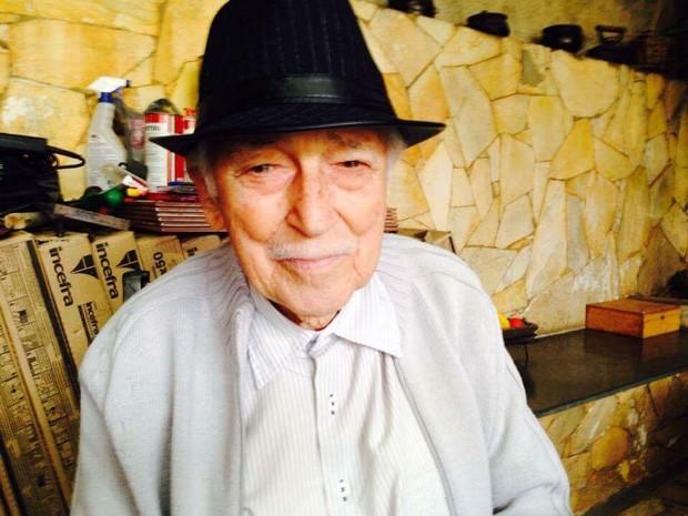 Vicente completa 100 anos neste domingo (2)  (Foto: Marcos de Paula/Divulgação)