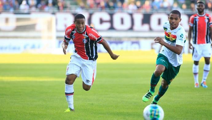 Everton Silva Joinville (Foto: Divulgação/JEC)