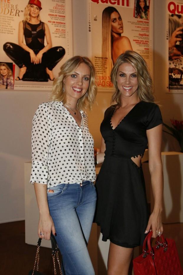 Fernanda Hickmann e Ana Hickmann (Foto: Marcos Rosa/Ed. Globo)