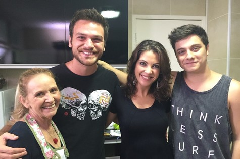 Rogéria Souza, Emilio Dantas, Thalita Rebouças e Cadu Libonati (Foto: Arquivo pessoal)