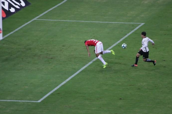 Internacional x Corinthians Inter Beira-Rio Inter Brenner (Foto: Eduardo Deconto)