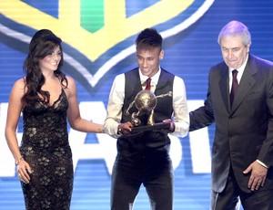 Neymar, Gol mais bonito. Prêmio do Brasileirão (Foto: Miguel Schincariol )