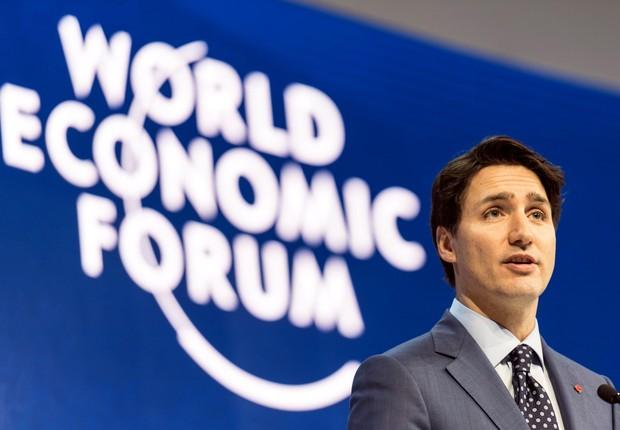 Justin Trudeau, primeiro ministro do Canadá (Foto: EFE)