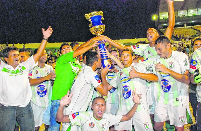 Sousa campeão 2009 (Foto: Leonardo Silva / Jornal da Paraíba)