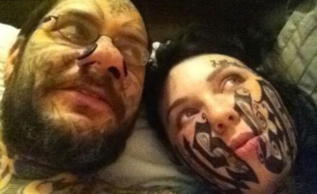 Toumaniantz foi criticado por ter feito a tatuagem bizarra (Foto: Reprodução)