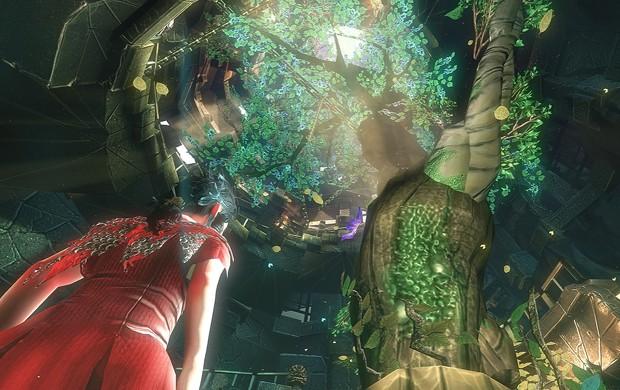 Desenvolvido pela gaúcha Swordtales, 'Toren' tem visual colorido e bem artístico (Foto: Divulgação/Swordtales)