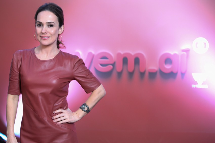 Gabriela Duarte no evento vem_aí da TV Tribuna (Foto: José Luiz Borges)