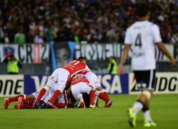 Santa Fé x Colo-Colo Libertadores (Foto: AFP)