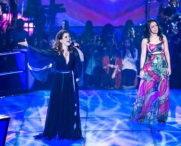 Millane e Karina (Foto: Isabella Pinheiro/Gshow)