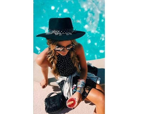Chapéu: não coloque na mala (Foto: Instagram)