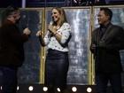 Ivete Sangalo se diverte em ensaio com Leonardo e Eduardo Costa