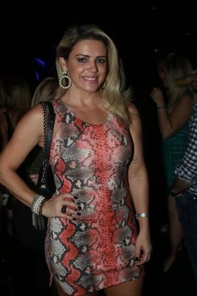 Mari Alexandre em show em São Paulo (Foto: Thiago Duran/ Ag. News)