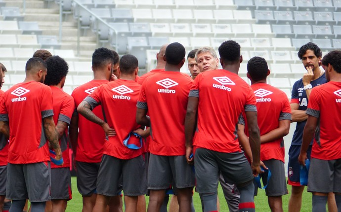 Atlético-PR (Foto: Monique Silva)