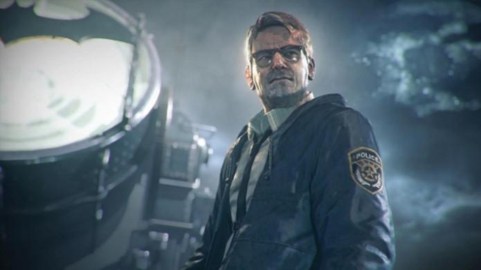 Comissário Gordon conta com a ajuda de Batman para proteger seus policiais na cidade (Foto: lazygamer.net) (Foto: Comissário Gordon conta com a ajuda de Batman para proteger seus policiais na cidade (Foto: lazygamer.net))
