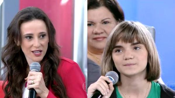 Encontro com Fátima Bernardes discutiu o tema bullying nesta segunda-feira (Foto: Reprodução/TV Globo)