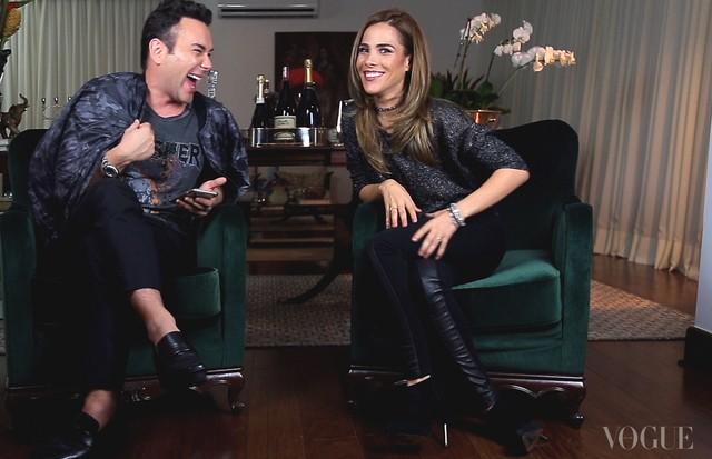 Matheus Mazzafera e Wanessa Camargo (Foto: reprodução)