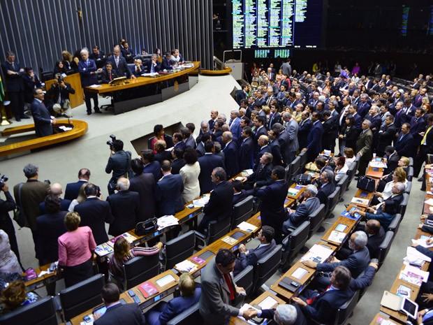 Plenário da Câmara dos Deputados (Foto: Agência Câmara)