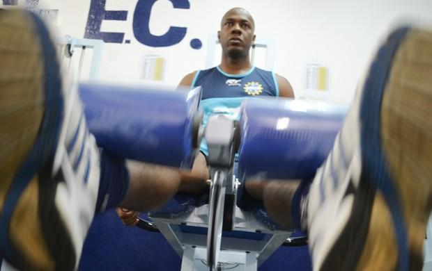 Marcos Aurélio treina pelo São José (Foto: Tião Martins/ TM Fotos)