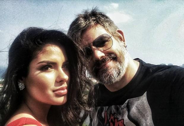 Munik e Marcio Carvalho  (Foto: Reprodução / Instagram)