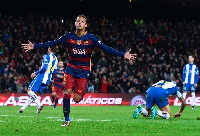 Neymar Barcelona Espanyol (Foto: Getty Images)