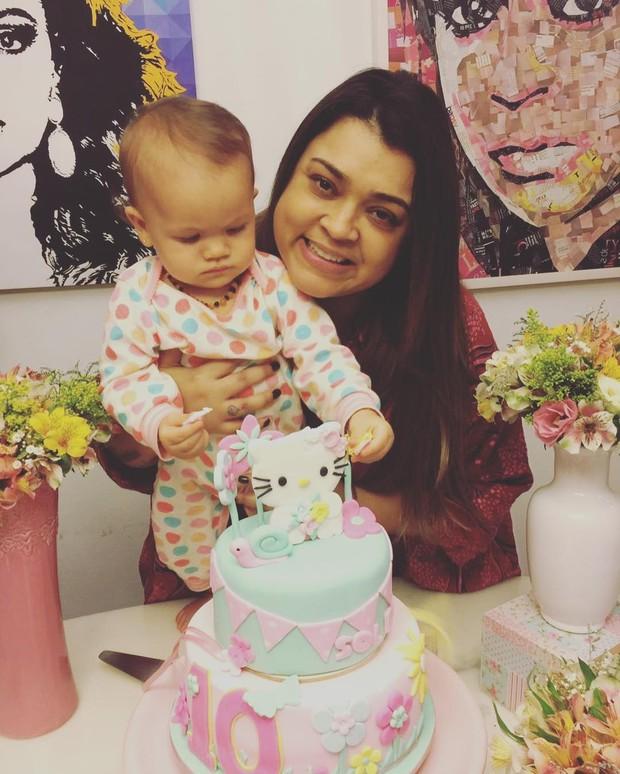Preta Gil comemora dez meses da netinha (Foto: Reprodução/Instagram)