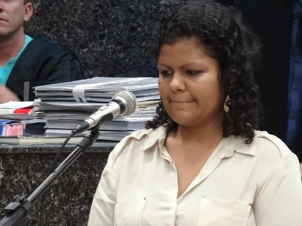 Em depoimento, Bruna disse que não executou Jéssica, mas que teria ajudado no assassinato (Foto: Luna Markman/G1)