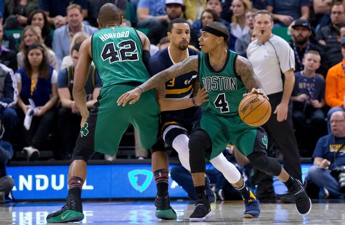 Utah Jazz x Boston Celtics Isaiah Thomas (Foto: Reuters)